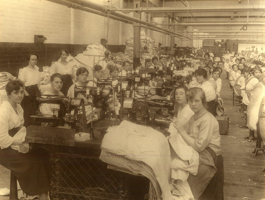 Sugdens_Workwear_Barnsley_Factory_early_1900s