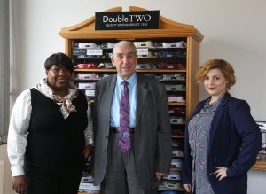Sugdens Chairman Richard Donner with Visitors from Director E