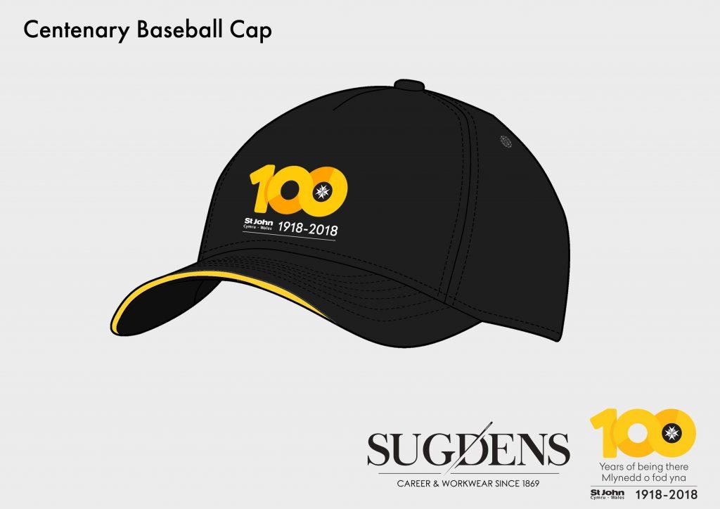 St John Wales Centenary Baseball Cap