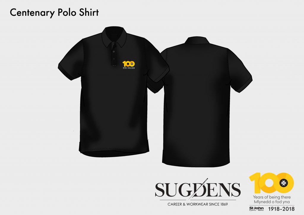 St John Wales Centenary Polo Shirt