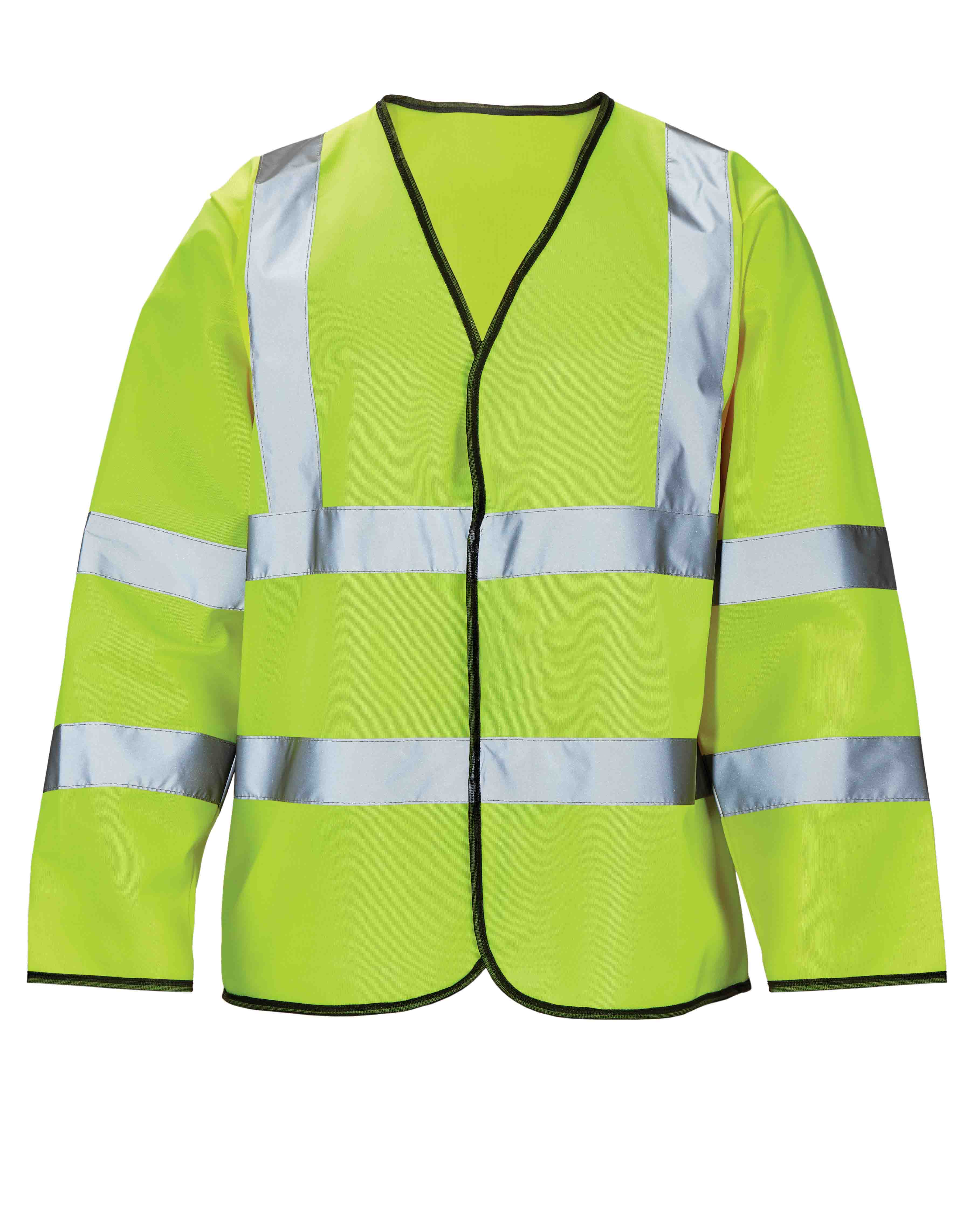 High Visibility Long Sleeved Waistcoat