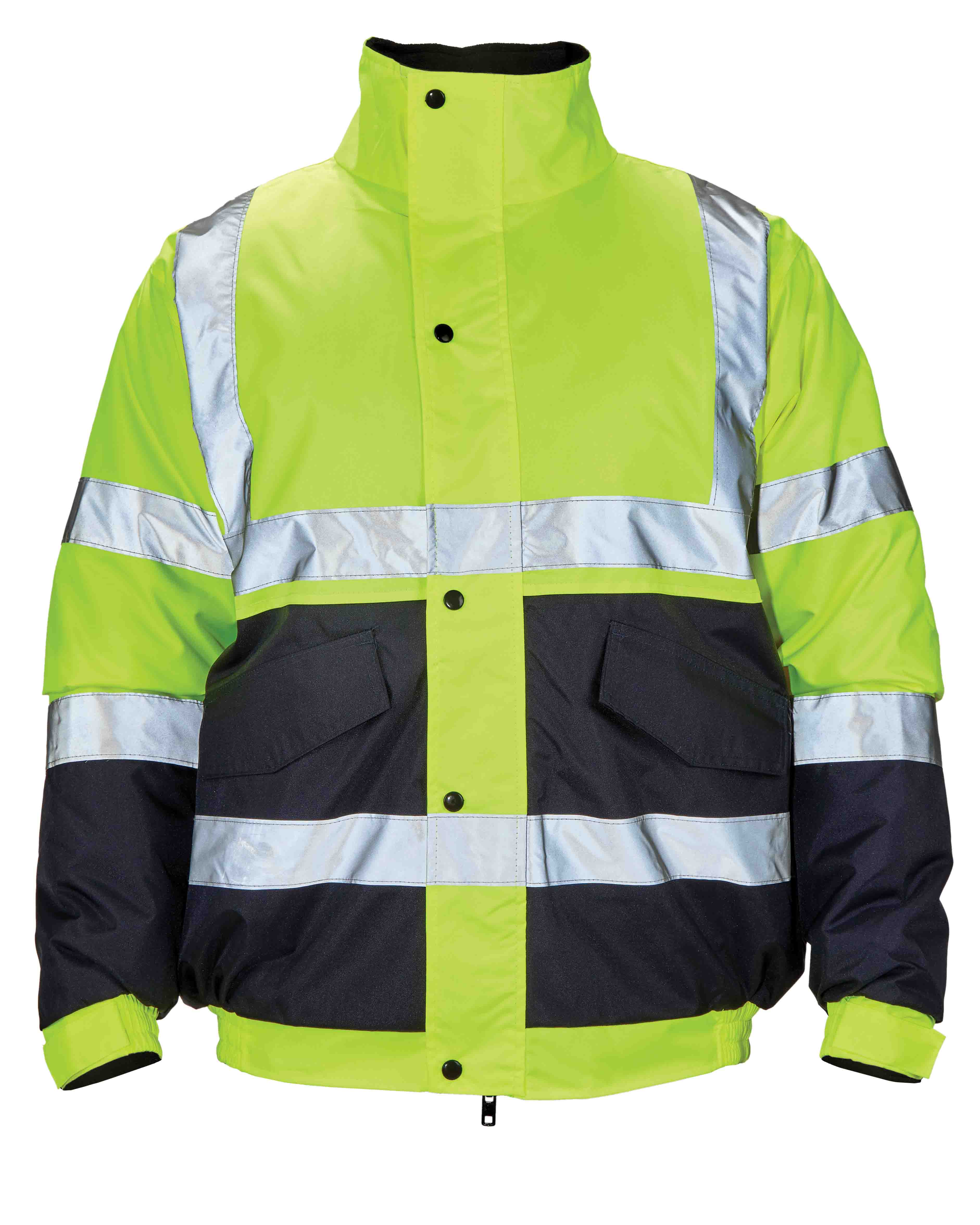 High Visibility Two Tone Bomber Jacket