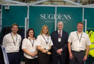 Team Sugdens with Director Peter Thompson