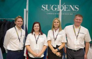 Team Sugdens at the Emergency Services Show