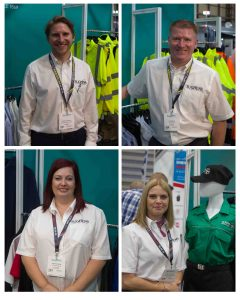The Sugdens team on Stand F82 at the ESS2018