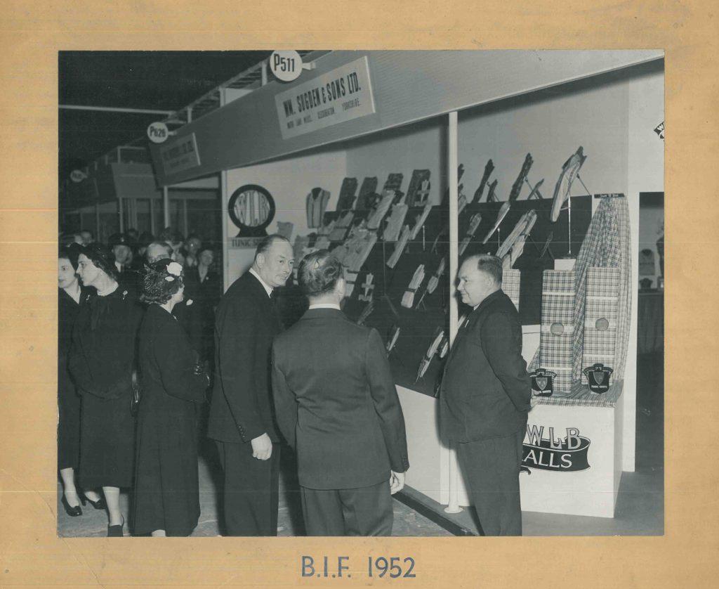 Sugdens Archive | British Industries Fair 1952