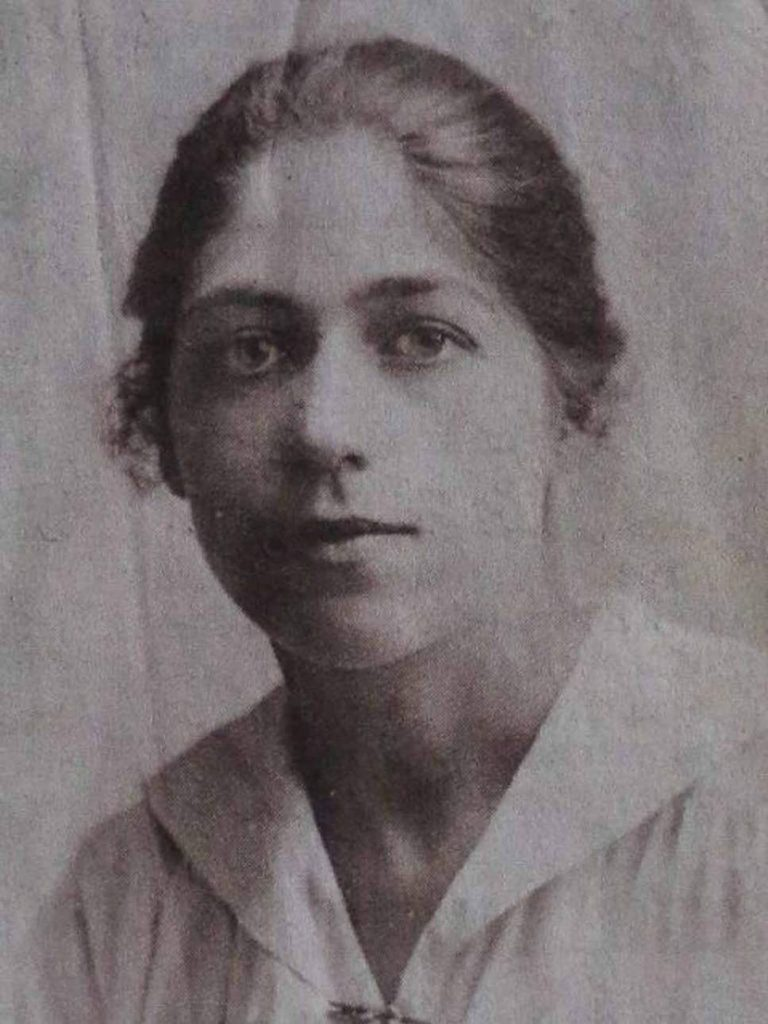 Ethel Lang pictured Age 20 | Sugdens Archive
