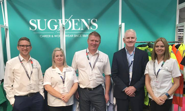 The Sugdens Team at the Emergency Services Show 2019