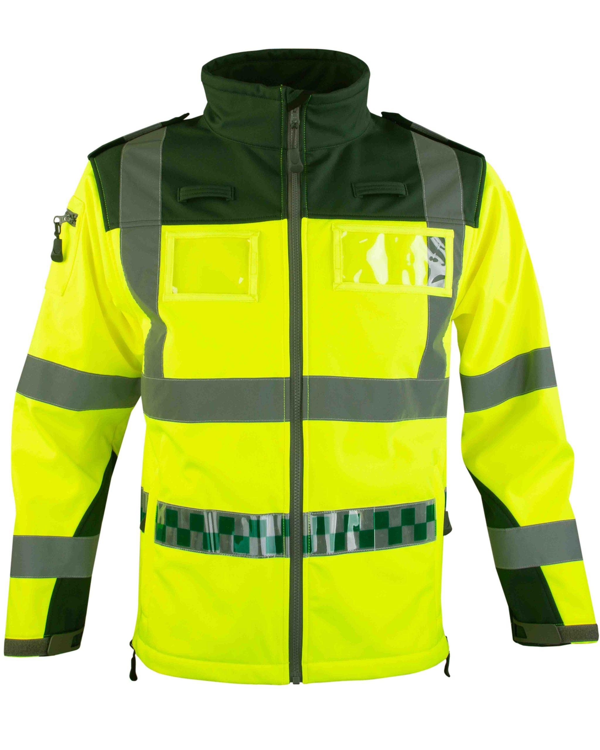 High Visibility Soft Shell Jacket